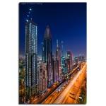Burj Dubai behind