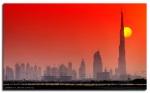 Burj Dubai sunset