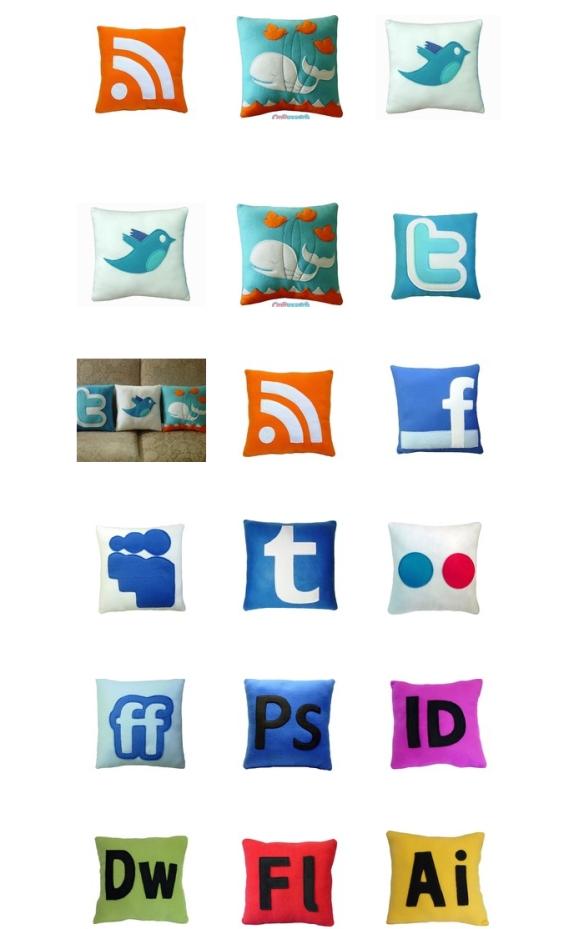geek pillow